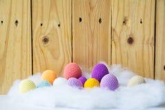 ovos dos fios para confecção de malhas fotografia de stock royalty free