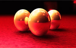 Ovos dourados Foto de Stock Royalty Free