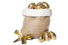 Ovos dourados doces Imagens de Stock Royalty Free