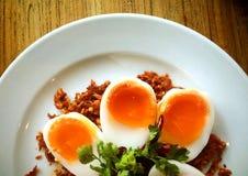 Ovos fervidos Fotografia de Stock Royalty Free
