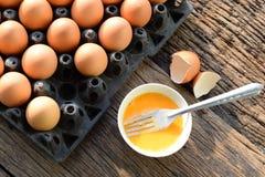 Ovos frescos Foto de Stock Royalty Free