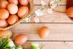 Ovos frescos fotografia de stock royalty free