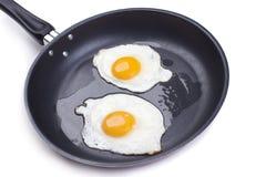 Ovos fritados imagem de stock royalty free