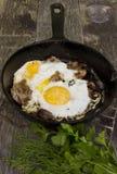 Ovos grelhados Imagem de Stock Royalty Free