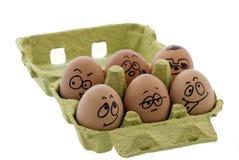 Ovos loucos Fotografia de Stock Royalty Free