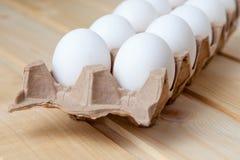 Ovos na caixa Foto de Stock Royalty Free