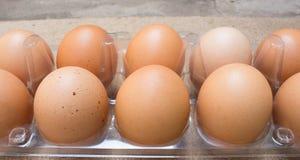 Ovos no pacote fotos de stock