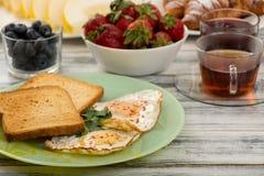 Ovos para o café da manhã Foto de Stock