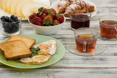 Ovos para o café da manhã Imagem de Stock