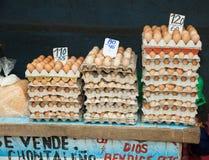 Ovos para a venda Fotografia de Stock