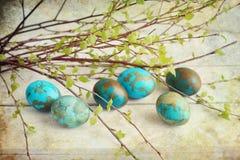 Ovos pintados Imagem de Stock