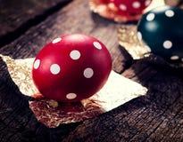Ovos pontilhados Fotografia de Stock