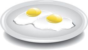 Ovos sobre fácil ilustração do vetor