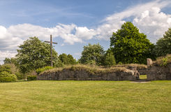 Ovraby church ruin Royalty Free Stock Image