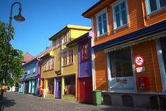 Ovre Holmegata, Stavanger, Norvège Photographie stock libre de droits