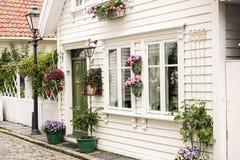 Ovre Holmegate Stavanger, Norwegia obraz stock