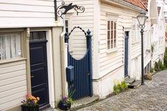 Ovre Holmegate Stavanger, Norwegia zdjęcie royalty free