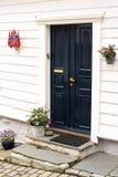Ovrestraat Stavanger, Noorwegen royalty-vrije stock foto