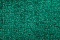 Owłosiony dywan Odizolowywający na bielu zdjęcie stock