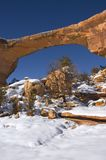 Owachomo at Natural Bridges National Monument Royalty Free Stock Photos