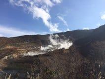 Owakudani em Hakone, Japão Fotografia de Stock