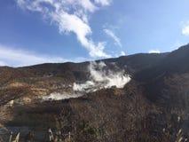 Owakudani em Hakone Japão Imagens de Stock Royalty Free