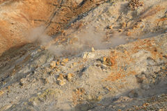 Owakudani, sulfur quarry, Japan Royalty Free Stock Image