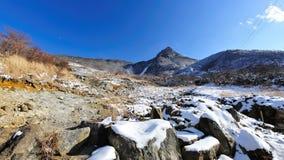 Owakudani volcanic valley Stock Images