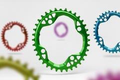 Owalny bicykl chainring Zdjęcie Stock