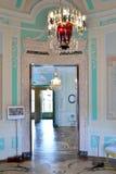 Owalny boudoir imperatorowa w Gatchina pałac Fotografia Royalty Free
