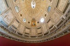 owalny pokój w Seville, Hiszpania Fotografia Royalty Free