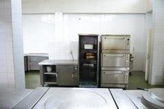 Owen in Restaurant kitchen Stock Photos