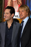Owen Wilson,Paul Rudd Royalty Free Stock Image