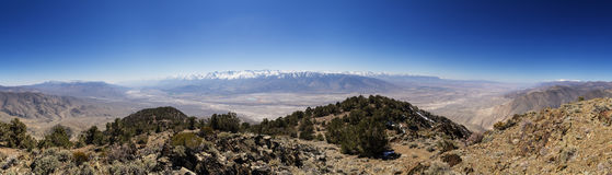 Owens Valley Panorama Royalty Free Stock Photos