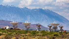 Owens Valley Solar Array California Royalty Free Stock Photography