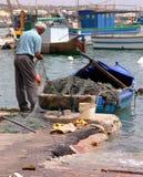 łowił ryby Zdjęcie Royalty Free