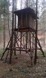 Łowiecki cabine Zdjęcie Royalty Free