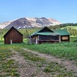 Łowiecki obóz Zdjęcie Royalty Free