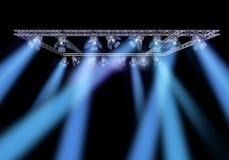 oświetleniowa rockowa scena Zdjęcia Royalty Free