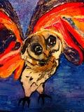 Owl Alive Image libre de droits