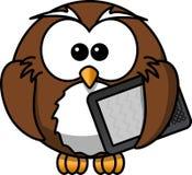 Owl, Animal, Bird, Book, E-Book Stock Photo