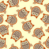 Owl background Royalty Free Stock Photos