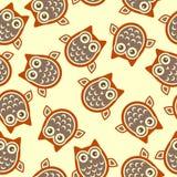 Owl background Royalty Free Stock Photos