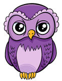 Owl bird animal character Stock Image