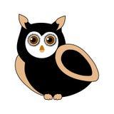 Owl- bird of prey Royalty Free Stock Images