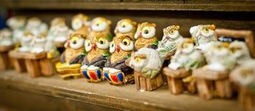 Owl birds background Royalty Free Stock Image