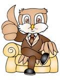Owl boss Stock Image