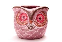 Owl bowl isolated Royalty Free Stock Image