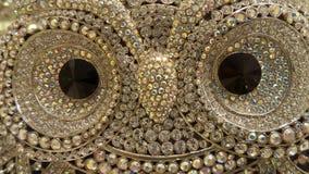 Owl brooch Stock Image