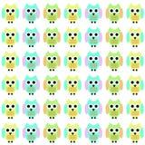 Owl Cartoon I Royaltyfri Foto